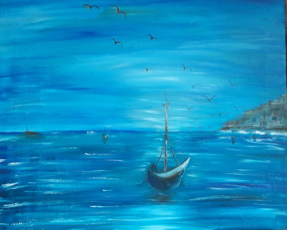 Barco solitario
